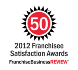 2012 Franchise Satisfaction Award Badge