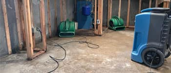 Water Damaged Basement Drying