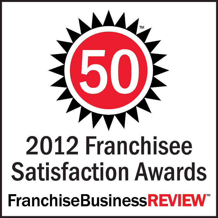 2012 Franchise Satisfaction Award Logo