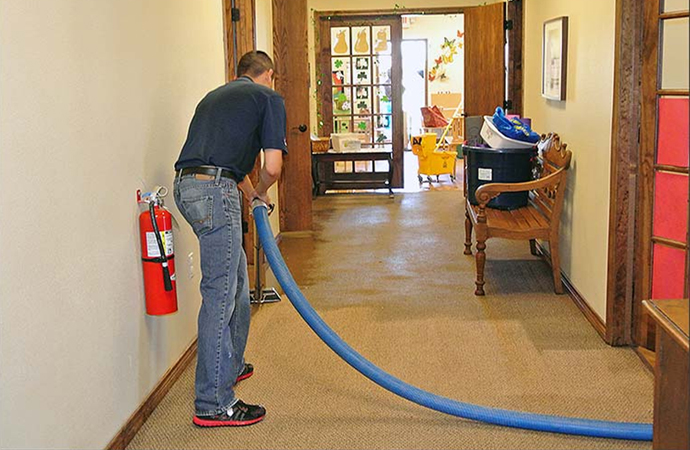 Water Damage Carpet Restoration